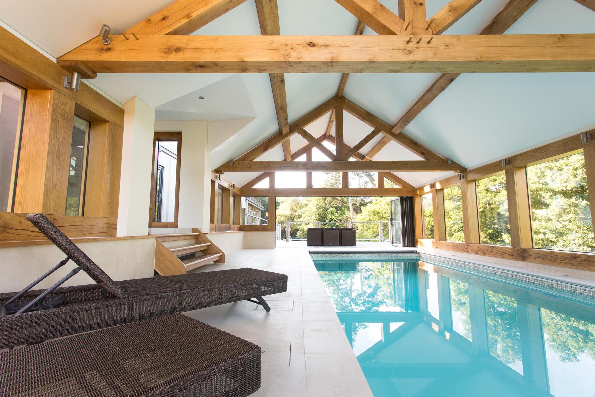 Luxury Swimming Pool, Quantock Hills