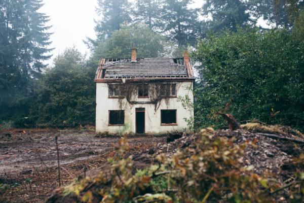 House Demolition, Quantock Hills